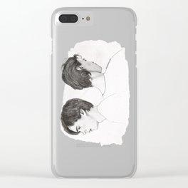 Isak and Even | Du er ikke alene Clear iPhone Case
