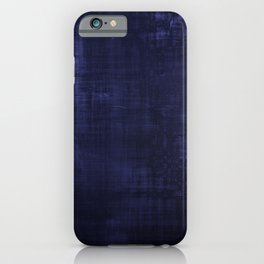 Blue velvet grunge texture looking cool iPhone Case