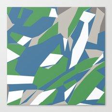 Hastings Zoom Green Canvas Print