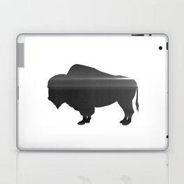 Buffalo print, Black & White Laptop & iPad Skin