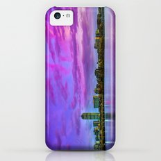 Sun dusk over Boston iPhone 5c Slim Case
