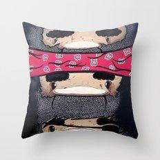 Pirate Totem. Throw Pillow