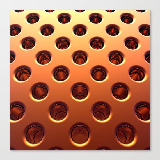 Shiny Holes Canvas Print