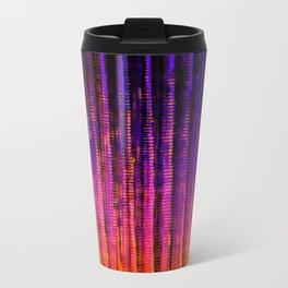 Syntax (Purple + Orange) Metal Travel Mug
