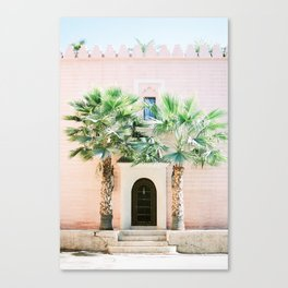 "Travel photography print ""Magical Marrakech"" photo art made in Morocco. Pastel colored. Canvas Print"