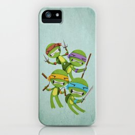 Heroes in a Half Shell iPhone Case