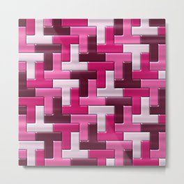 Geometrix XXXII Metal Print