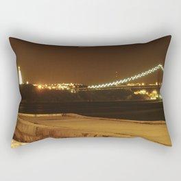 Lisboa a noite Rectangular Pillow