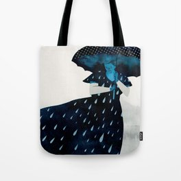 let it rain Tote Bag