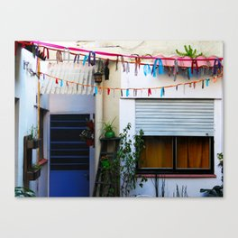Backyard Canvas Print