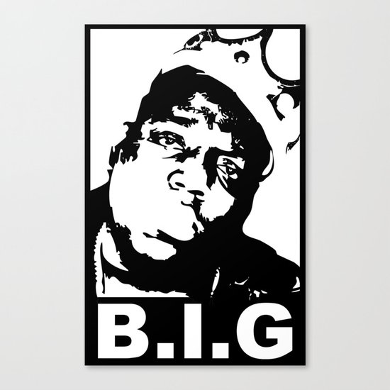 NOTORIOUS B.I.G Canvas Print
