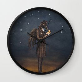 Even miracles take a little time. Wall Clock