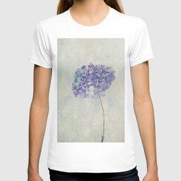 Beautiful Blue Hydrangea T-shirt