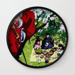 InaYasha Wall Clock