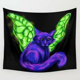 Fairy Cat - Mazuir Ross Wall Tapestry
