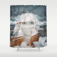 anna Shower Curtains featuring ANNA by CABINET
