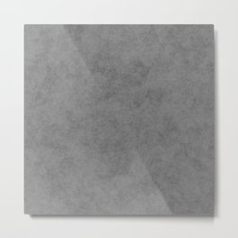 Concrete Gray Texture - Smoother Version Metal Print