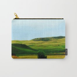 Rolling Green Hills Landscape Carry-All Pouch