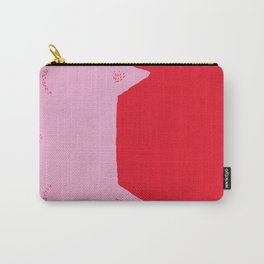 cat very sad (pink) Carry-All Pouch