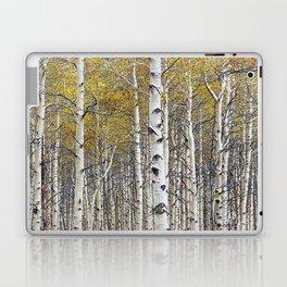 Birch Trees in Autumn Laptop & iPad Skin