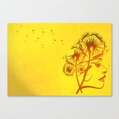 Fleeting Thoughts Canvas Print