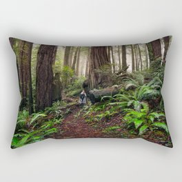 Forest of the Giants Rectangular Pillow