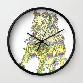 """Winning Spirit"" Wall Clock"