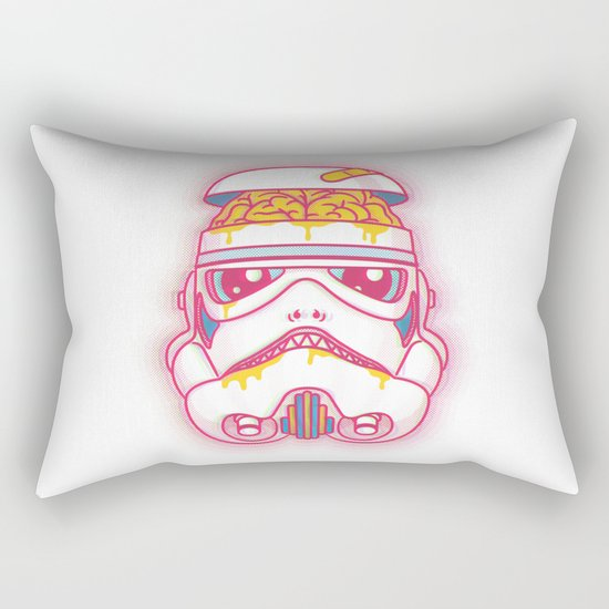 A Bad Feeling Rectangular Pillow