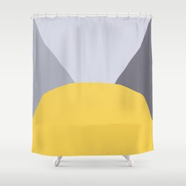 Deyoung Primrose Yellow Shower Curtain