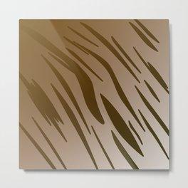 Design excl. Elements WILD TIGER Metal Print