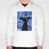 edgar allan poe Hoodies featuring Nevermore - Edgar Allan Poe by Danielle Tanimura