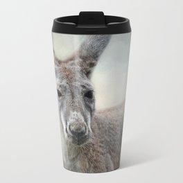 Western Grey Kangaroo - Wildlife Travel Mug