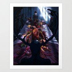 Hannibal: The Dark Banquet Art Print