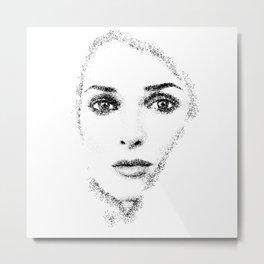 Winona Ryder Metal Print