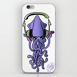 DJ Squid iPhone Skin