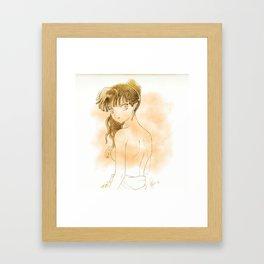 Kagura Framed Art Print
