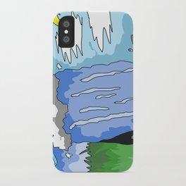 waterfall iPhone Case