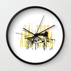 Tá tudo aqui Cara Wall Clock
