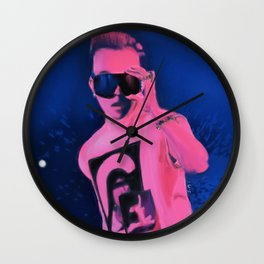 Stage King Wall Clock