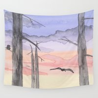 twilight Wall Tapestries featuring Twilight  by Hayley Lang