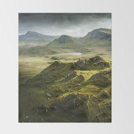Isle of Skye, Scotland Throw Blanket