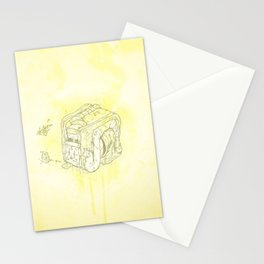 Boxed Mime (Yellow) Stationery Cards