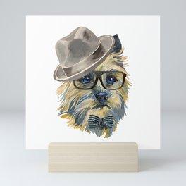 Cairn Terrier, terrier mom Mini Art Print