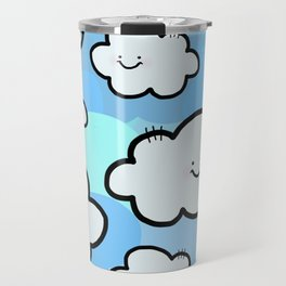 Cheery Cloud Cluster Travel Mug
