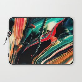 ABSTRACT COLORFUL PAINTING II-A Laptop Sleeve