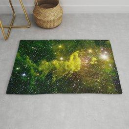 Spider Nebula I Constellation Auriga Rug