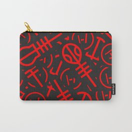 TØP Stickers - Red Carry-All Pouch