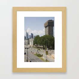 Frankfurt Framed Art Print