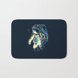 Space Ethereum - Navy Version Bath Mat