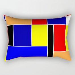 Mondrian #48 Rectangular Pillow